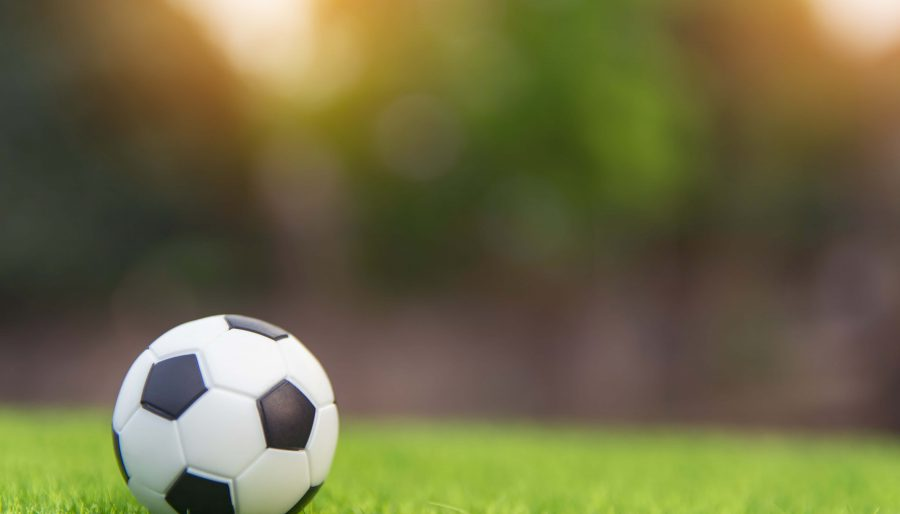 soccer ball on grass in daytime