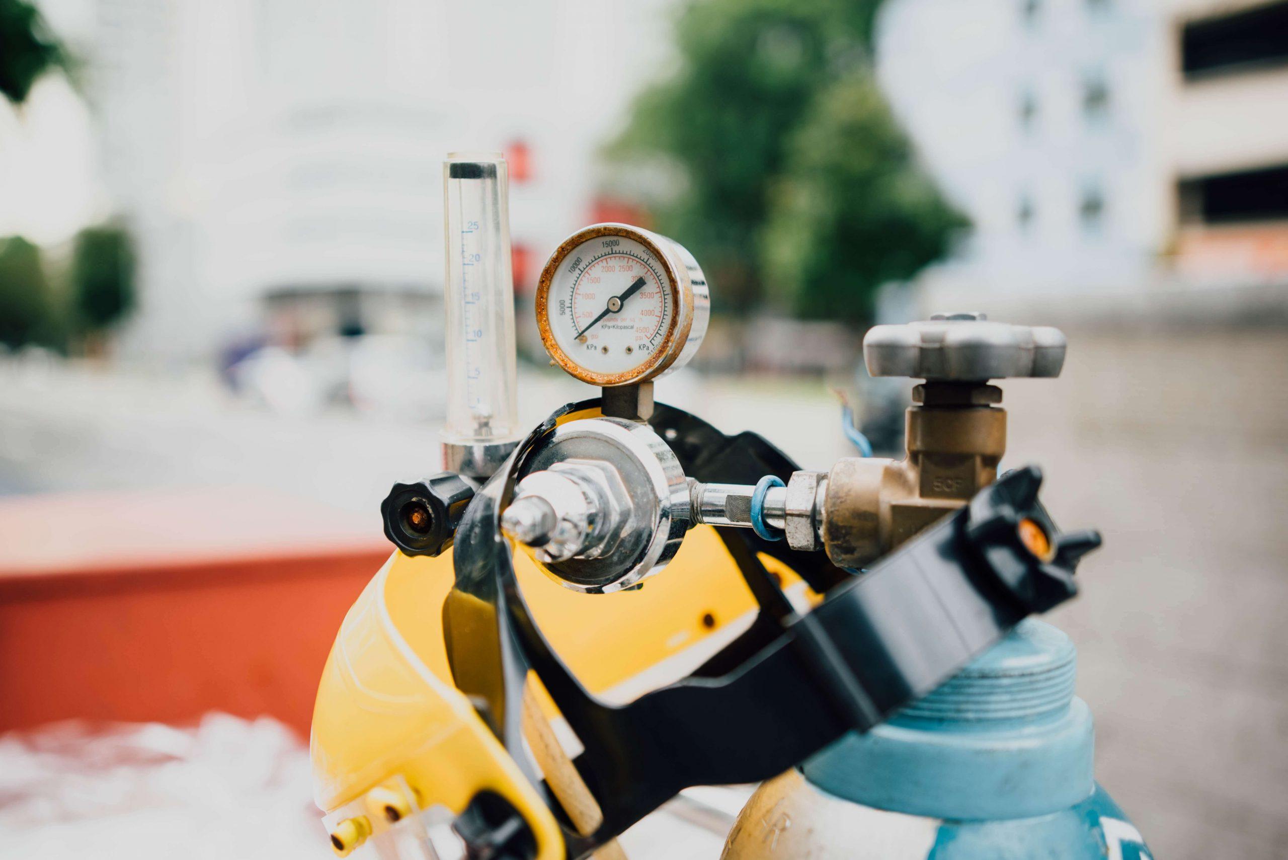 gas tank in daylight